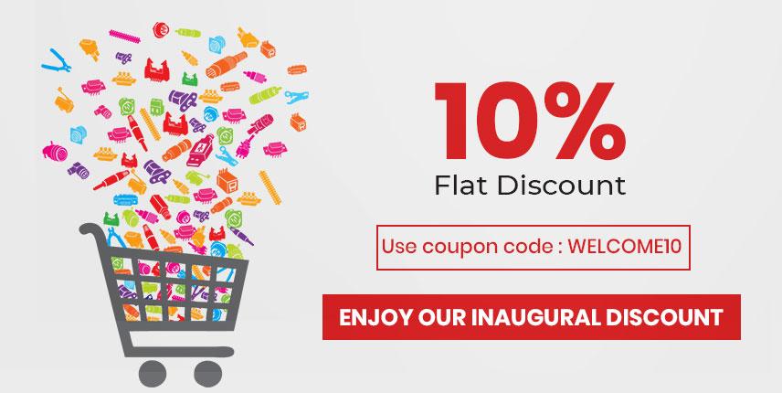 10% Flat Discount